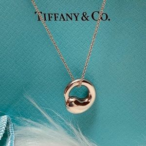 Tiffany & Co. Elsa Peretti Eternal Circle Necklace
